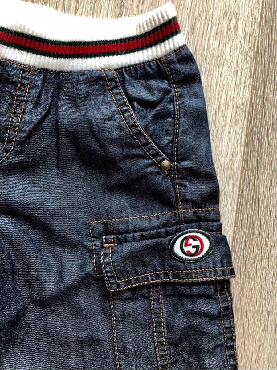 GUCCIグッチ☆半ズボン 5サイズ110~130センチ男の子_画像2