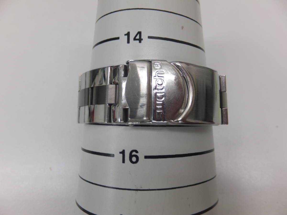 30291-180 SWATCH IRONY スウォッチ アイロニー/メンズ腕時計/電池交換済み 風防本体小傷有 快調 送料180円~同梱不可_画像10