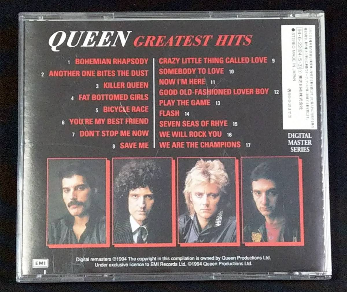 ★Queen クィーン Greatest Hits★国内盤CD(良品)_画像2