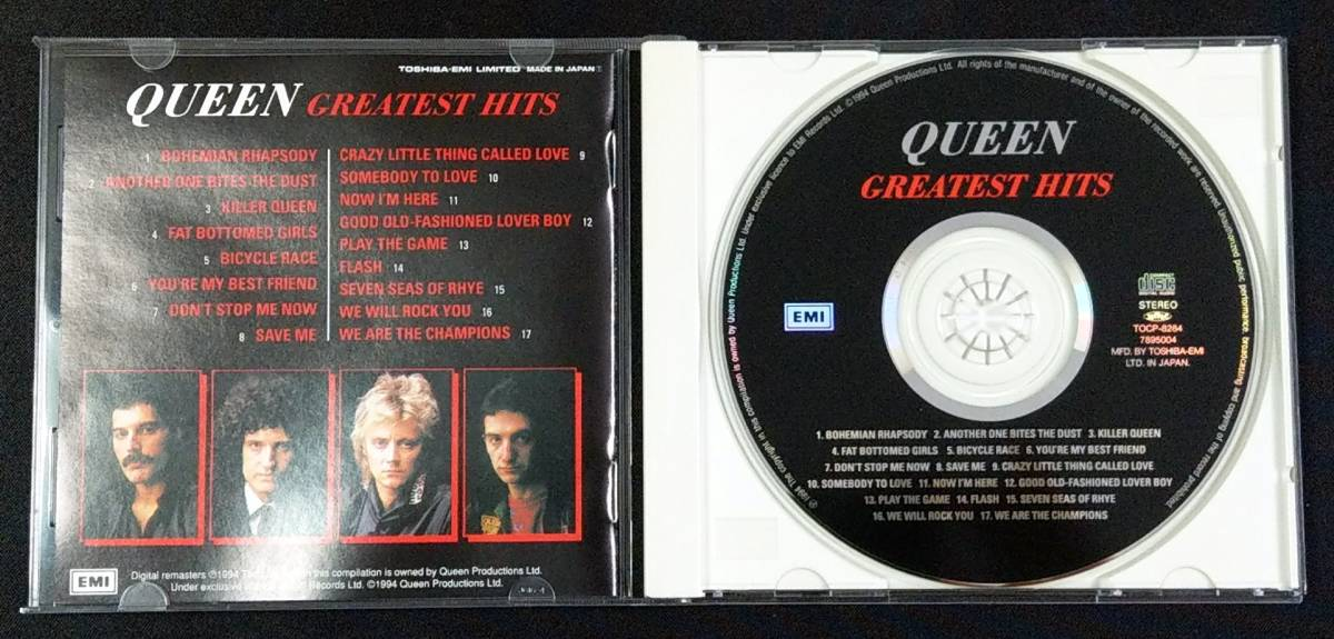 ★Queen クィーン Greatest Hits★国内盤CD(良品)_画像3