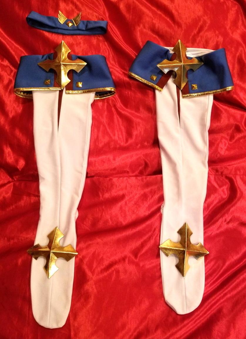 Fate/Grand Order ブラダマンテの衣装  (大きいサイズ・オーダーメイド品・未使用に近い状態です)_画像4