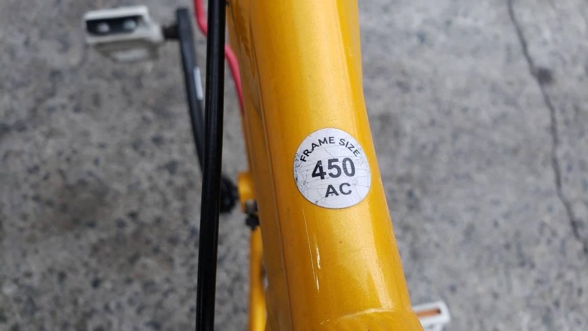 ★愛知発 ルイガノ ロードバイク 450AC? 要整備 メンテナンス BASS 6061 完全売り切り_画像5