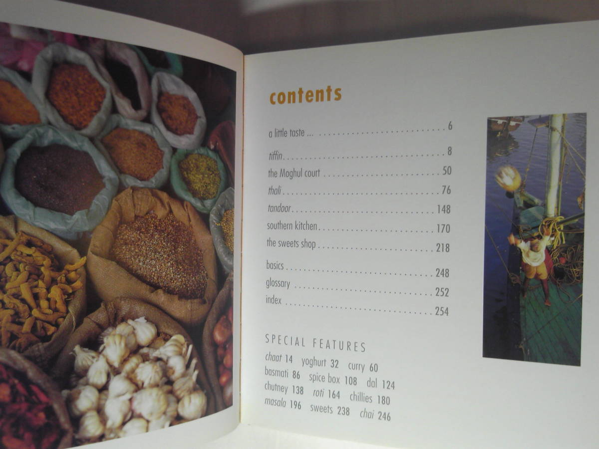 英語/インド料理「a little taste of india/」Murdoch Books 2003年_画像2