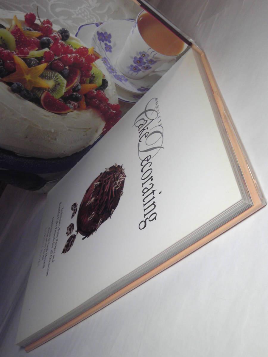 英語/料理「ケーキデコレーション大全/Complete Cake Decorating」Angela Nilsen他著