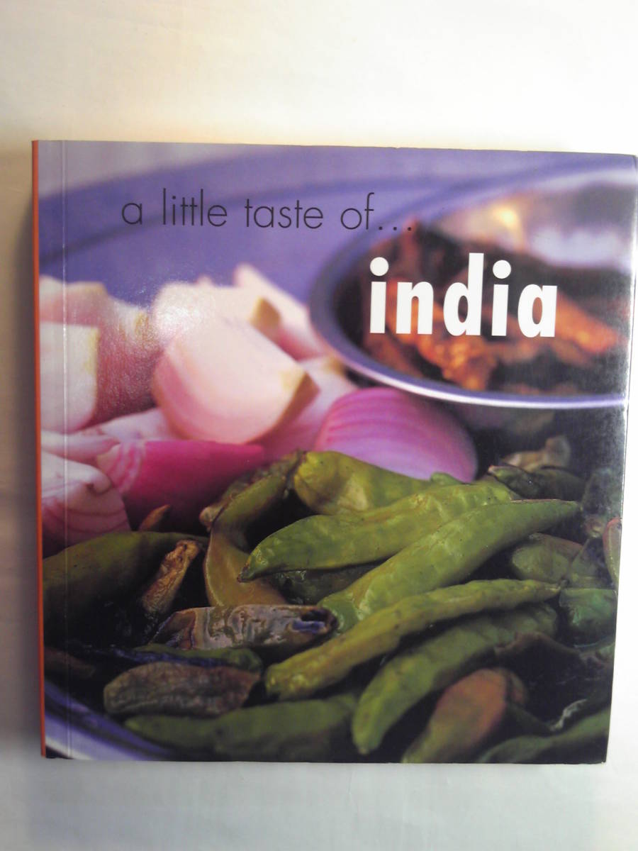 英語/インド料理「a little taste of india/」Murdoch Books 2003年_画像1