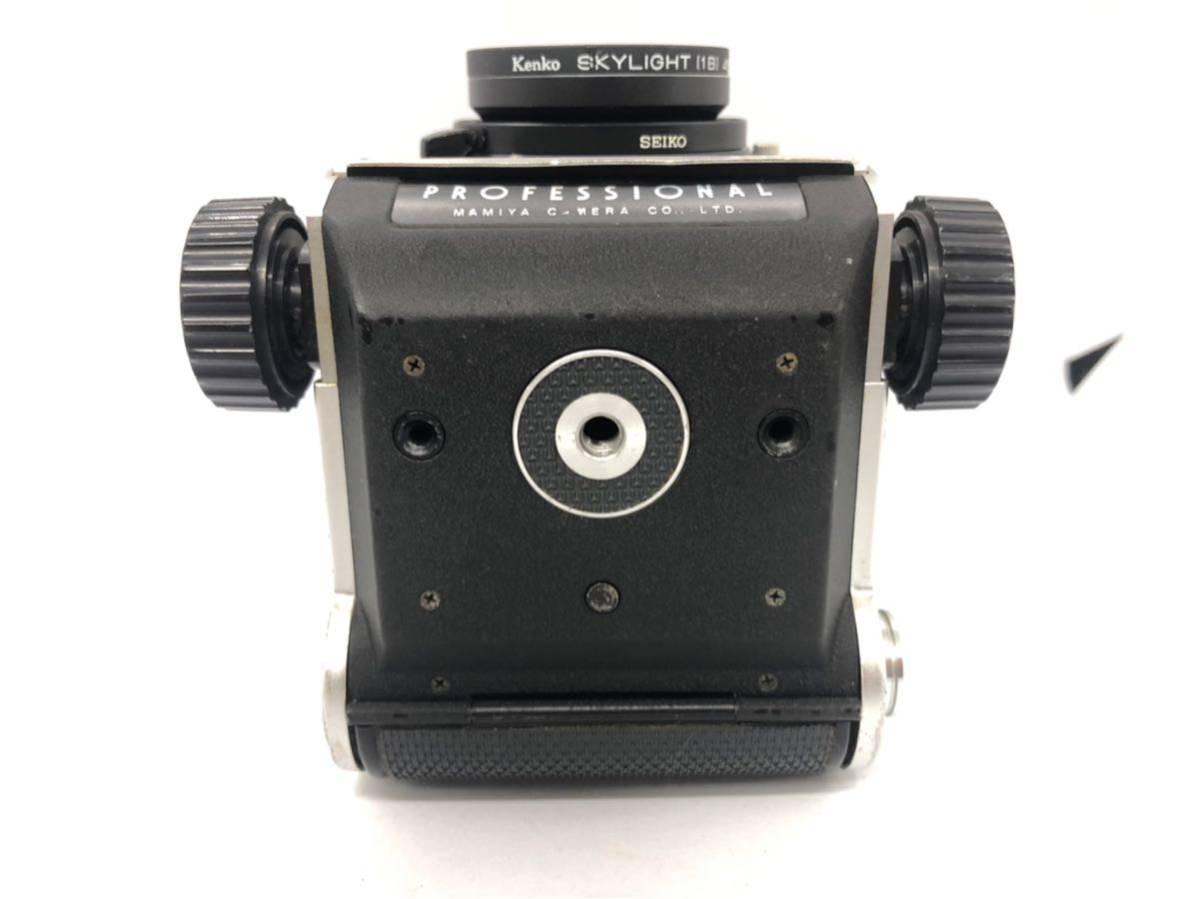 1円 MAMIYA C220 PROFESSIONAL マミヤ MAMIYA-SEKOR f=80mm 1:2.8 二眼レフ 中判カメラ 1906UONOM_画像5