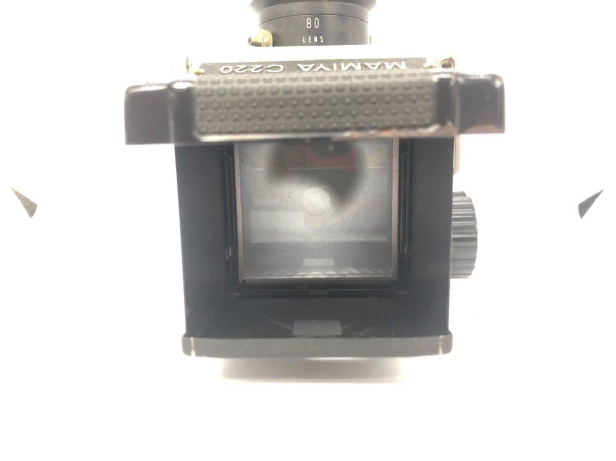 1円 MAMIYA C220 PROFESSIONAL マミヤ MAMIYA-SEKOR f=80mm 1:2.8 二眼レフ 中判カメラ 1906UONOM_画像6