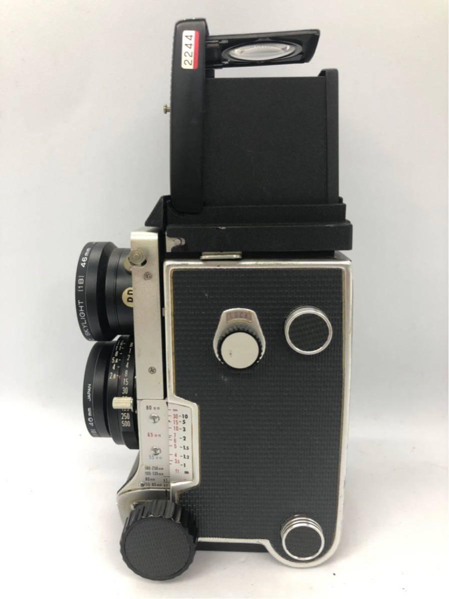 1円 MAMIYA C220 PROFESSIONAL マミヤ MAMIYA-SEKOR f=80mm 1:2.8 二眼レフ 中判カメラ 1906UONOM_画像2