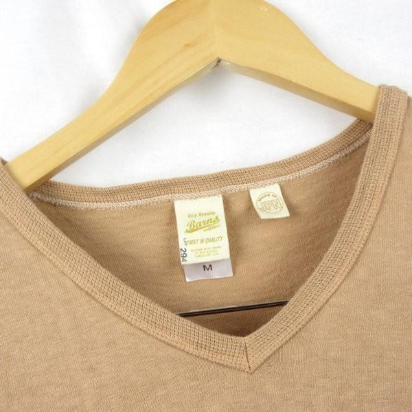 Barns 胸ポケット 7分袖 アメカジTシャツ sizeM/バーンズ 0703_画像2