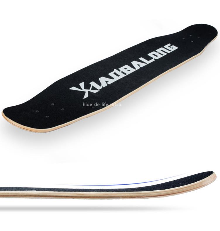 プロの四輪スケートボード ロングボード スクーター 初心者青少年子供通用 80A高弾性PUホイール ABEC-11クロム鋼マナーモード軸受 SSG-5_画像4