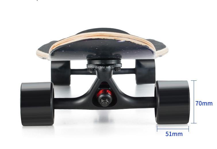 プロの四輪スケートボード ロングボード スクーター 初心者青少年子供通用 80A高弾性PUホイール ABEC-11クロム鋼マナーモード軸受 SSG-5_画像5