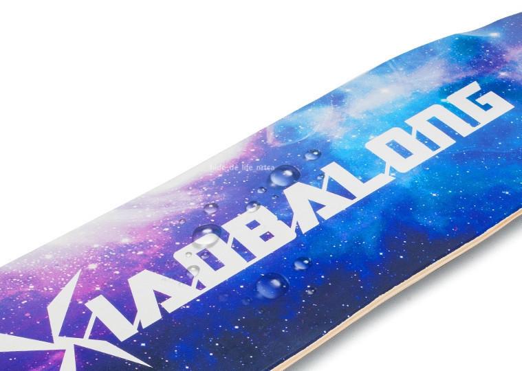 プロの四輪スケートボード ロングボード スクーター 初心者青少年子供通用 80A高弾性PUホイール ABEC-11クロム鋼マナーモード軸受 SSG-5_画像6