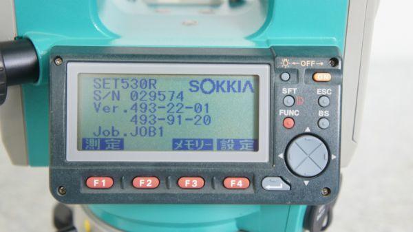 B284012R] SOKKIA/ソキア SET530RS ノンプリズム トータルステーション_画像4