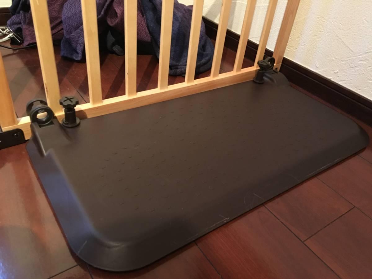 日本育児 おくだけとおせんぼ スマートワイドWoody 木製 ベビーゲート 置くだけ_画像5