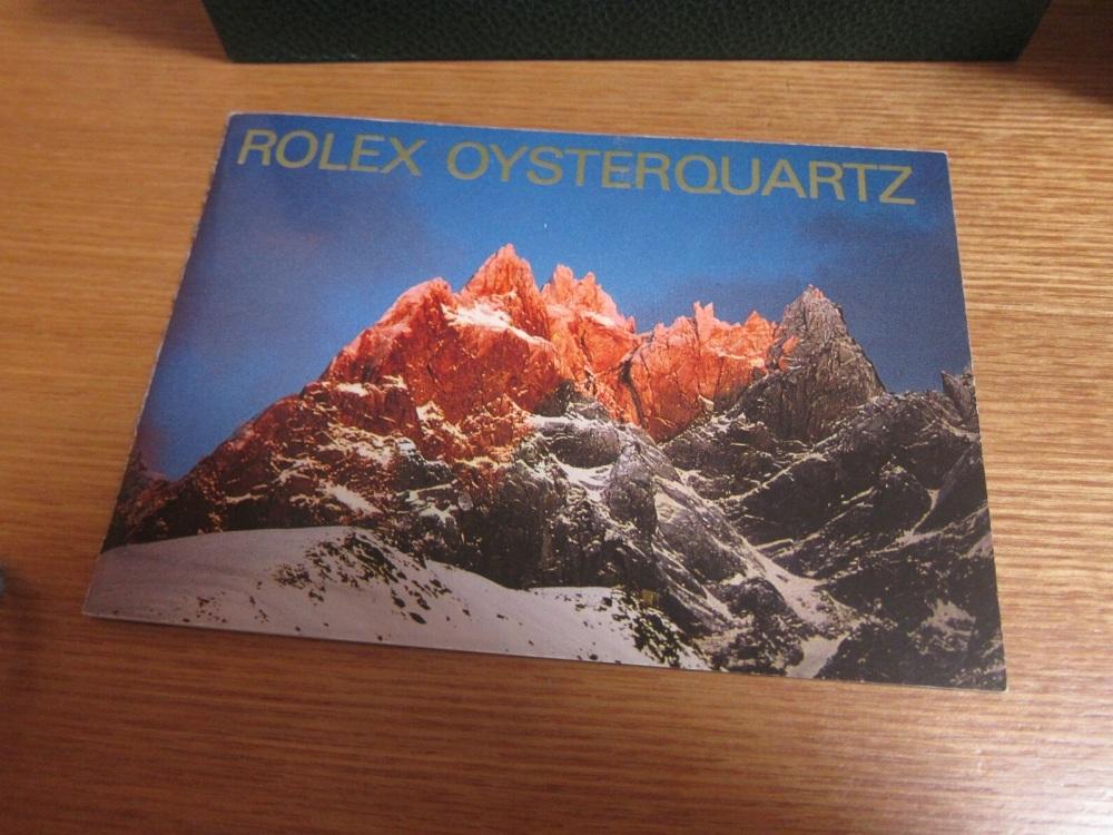 ROLEX OYSTER QUARTZ DATE JUST 黒文字盤 Ref.17000 ロレックス オイスタークォーツ デイトジャスト_画像4