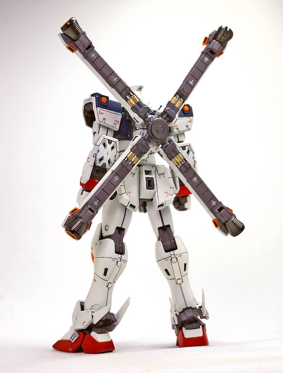 RG 1/144 クロスボーンガンダム X1 小改修塗装完成品_画像3