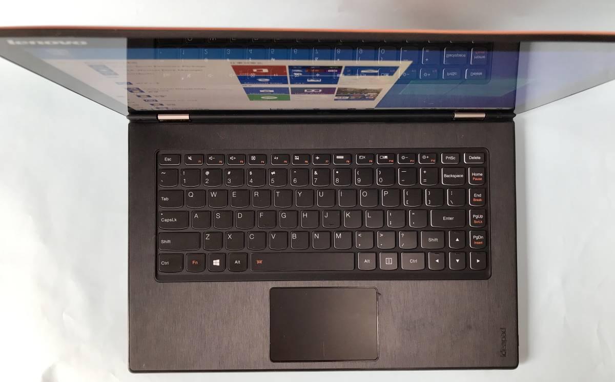 【ジャンク】Lenovo Yoga / Intel Core i3 4010U / 4GB / SSD搭載_画像2