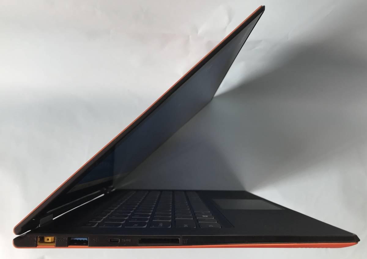 【ジャンク】Lenovo Yoga / Intel Core i3 4010U / 4GB / SSD搭載_画像6