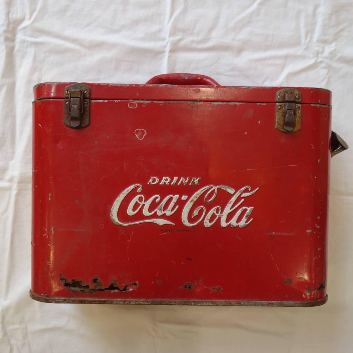 超希少 1940~50's ヴィンテージ Coca-Cola Airline Cooler