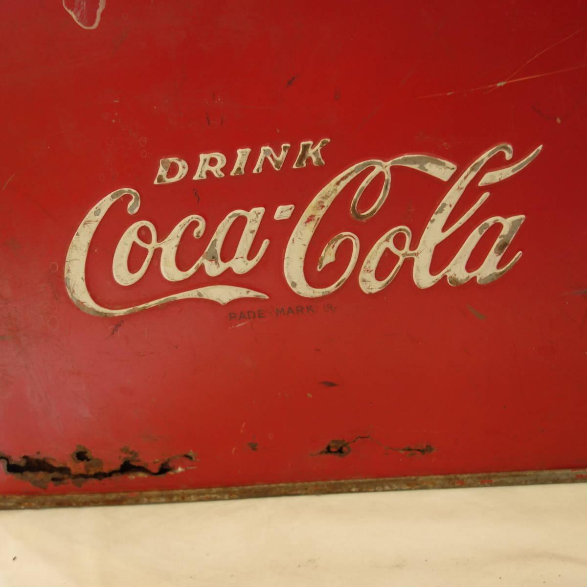 超希少 1940~50's ヴィンテージ Coca-Cola Airline Cooler_画像7