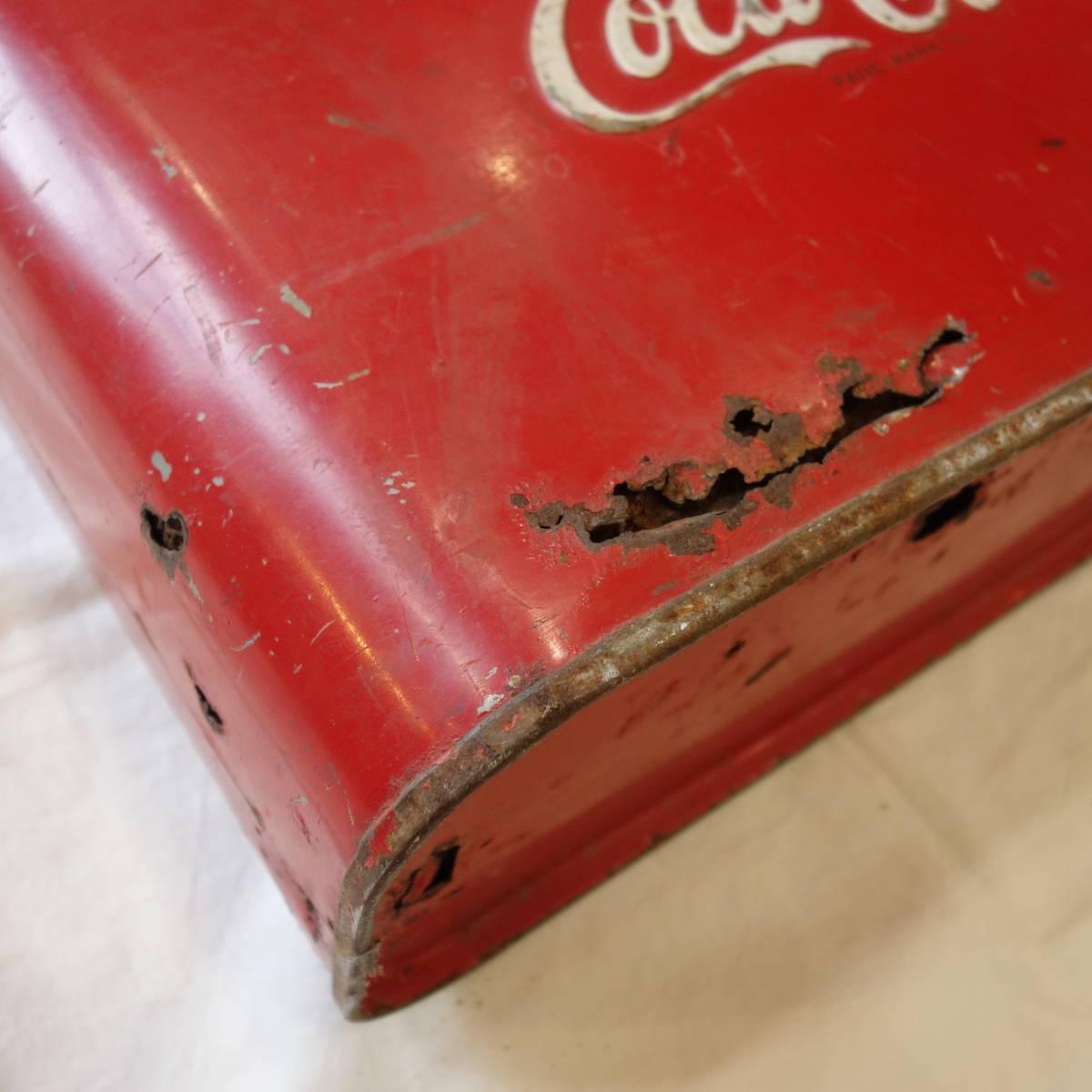超希少 1940~50's ヴィンテージ Coca-Cola Airline Cooler_画像2