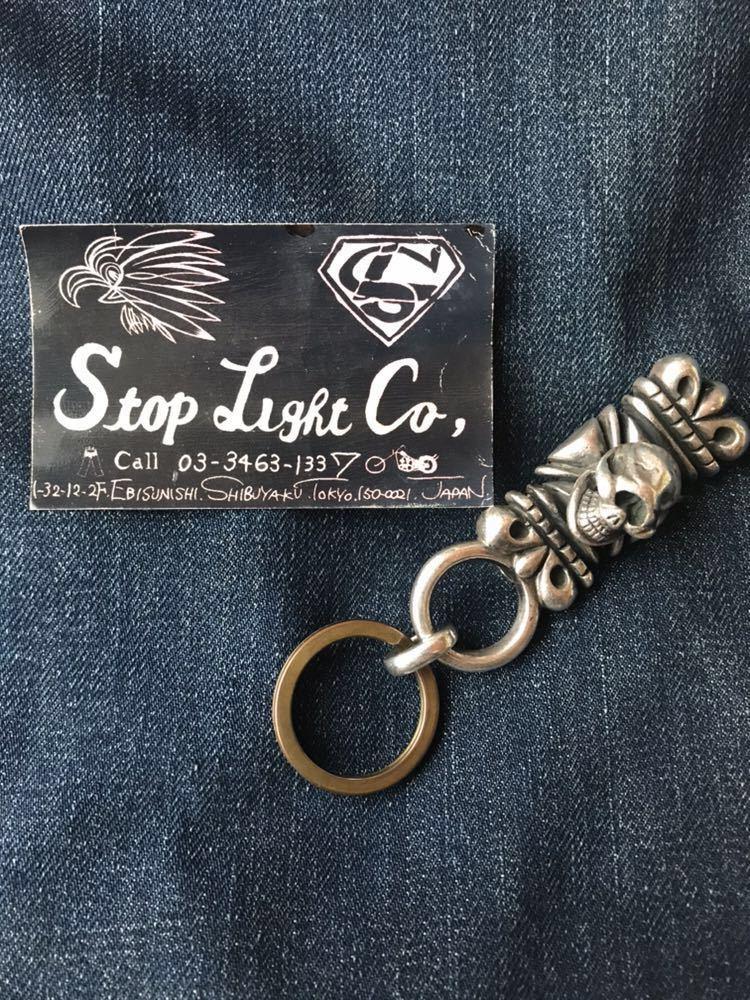 stoplightco stop light ストップライト キーパー キーホルダー 高山隆 キーチェーン 初期 レア ハーレー ベルト ショベルヘッド パン