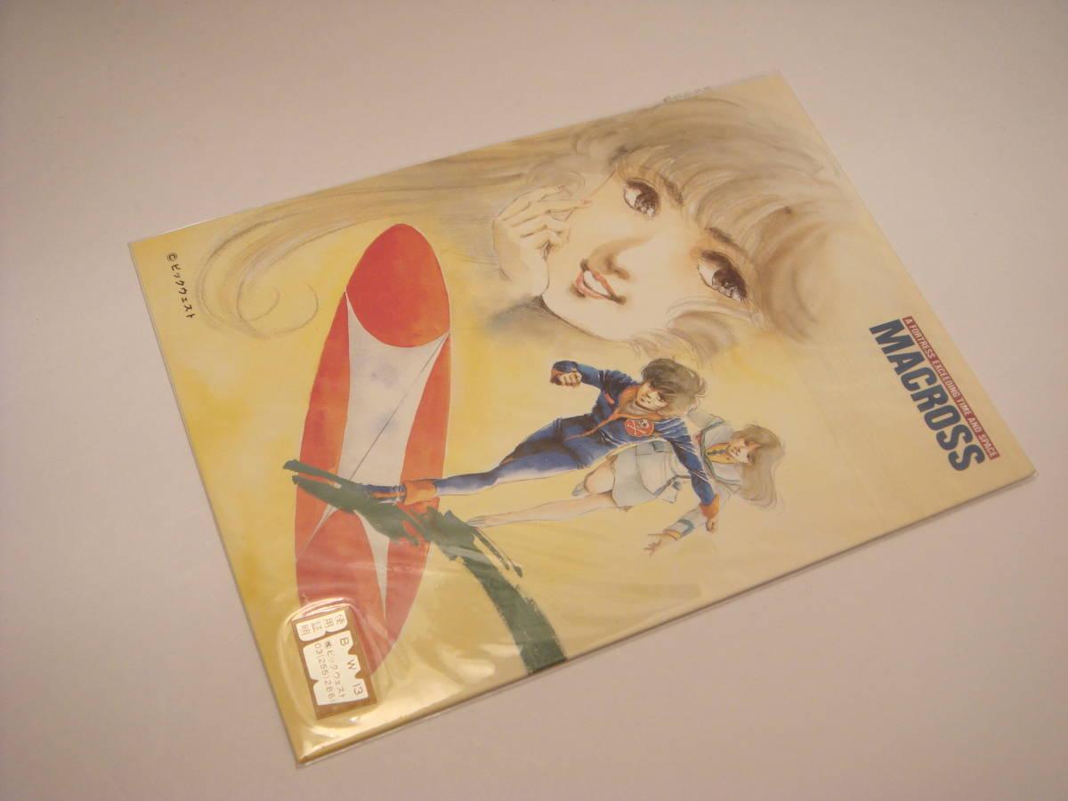 マクロス テレホンカード 台紙(ポストカード)つき 新品_画像7