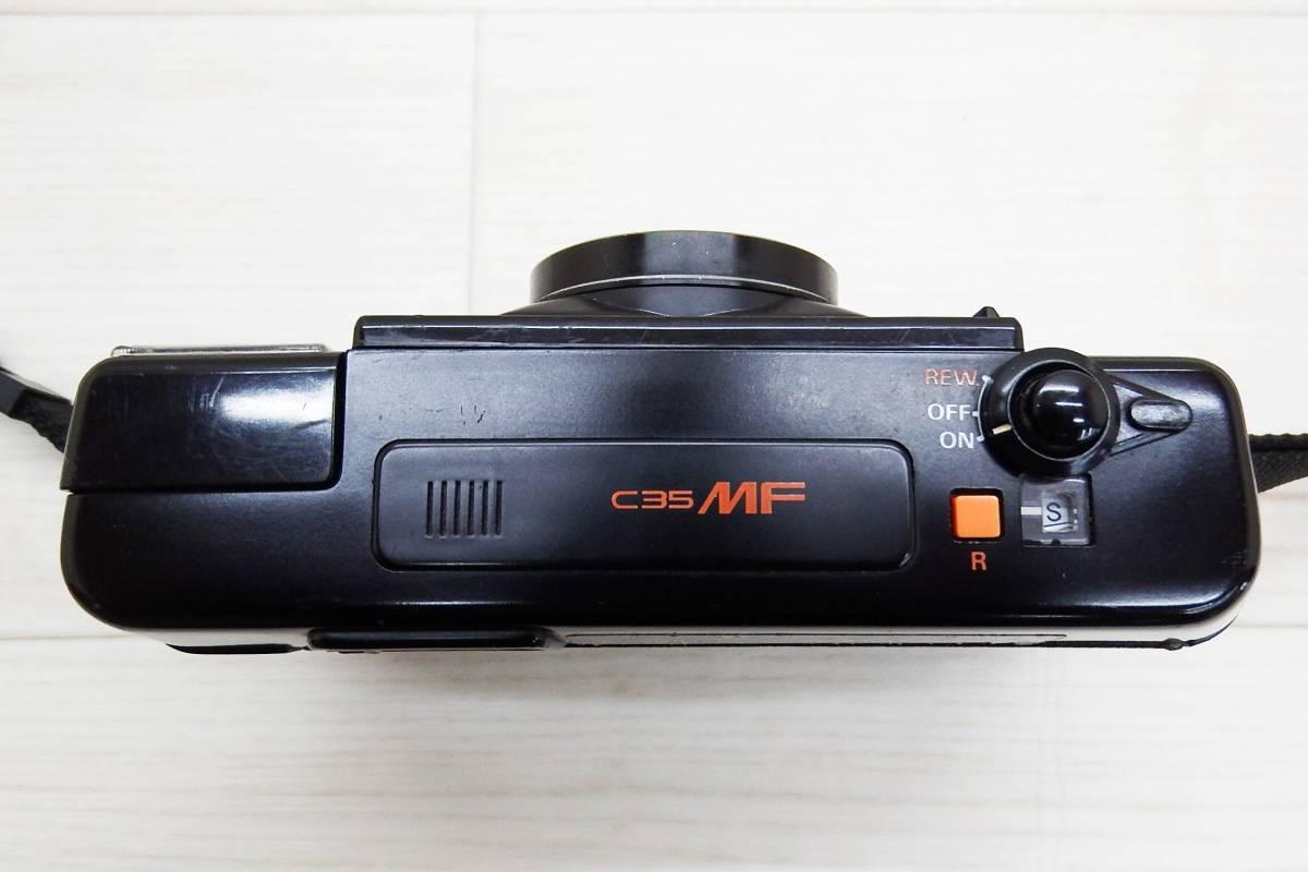KONICA コニカ★フィルムカメラ ボディ C35 MF/レンズ KONICA HEXANON 38mm F2.8★中古品「管理№M6354」_画像8