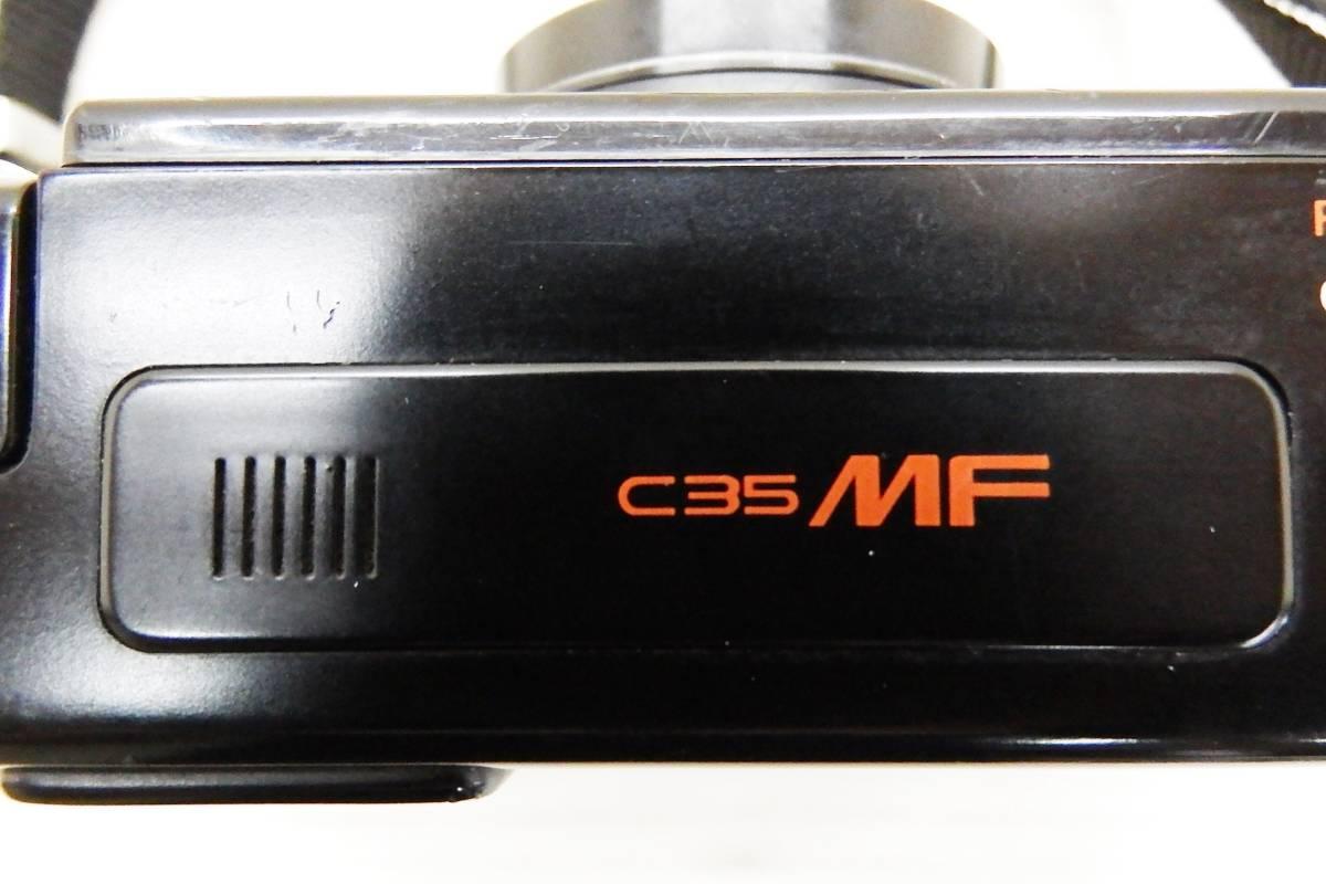 KONICA コニカ★フィルムカメラ ボディ C35 MF/レンズ KONICA HEXANON 38mm F2.8★中古品「管理№M6354」_画像10