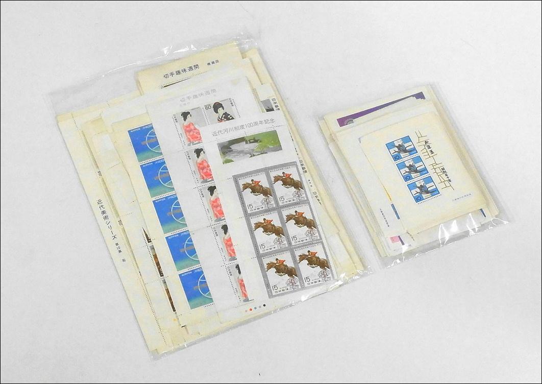 8■未使用 日本切手■記念切手シート お年玉切手 バラ切手 額面45000円分まとめて!_画像6