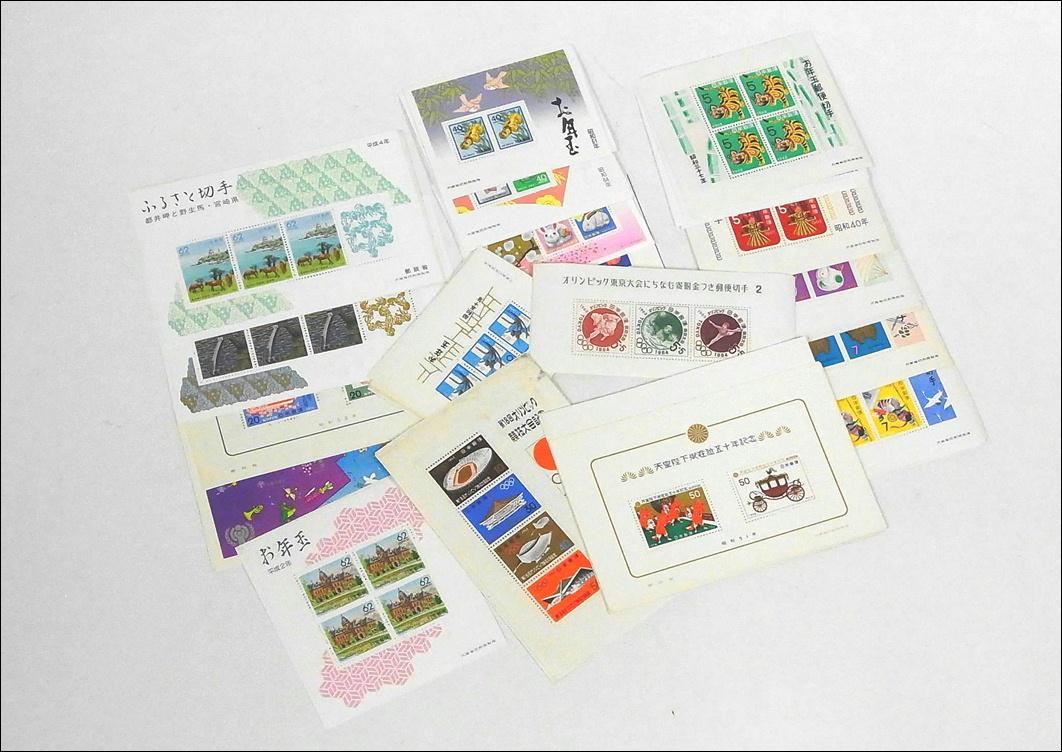 8■未使用 日本切手■記念切手シート お年玉切手 バラ切手 額面45000円分まとめて!_画像4