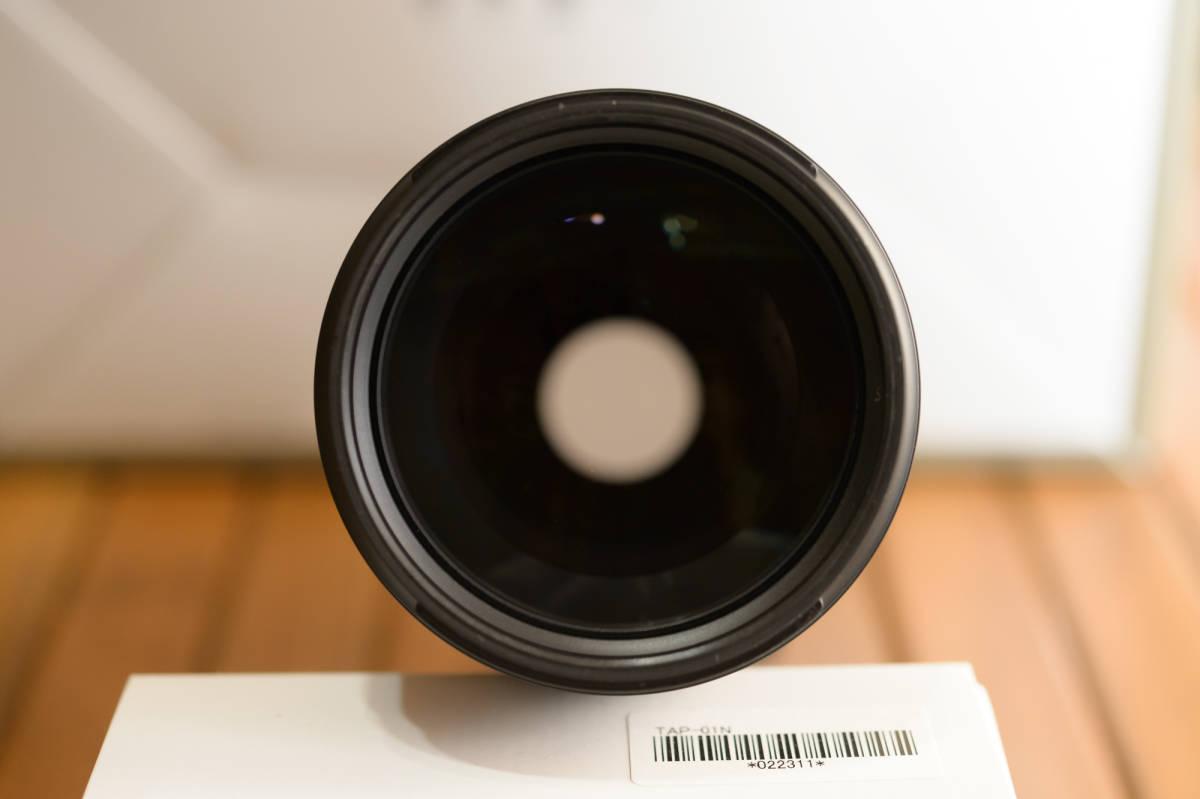 中古 SP 70-200mm F/2.8 Di VC USD G2 Model A025 & TAP-in Console Nikon ニコン 用 保証書あり_画像5