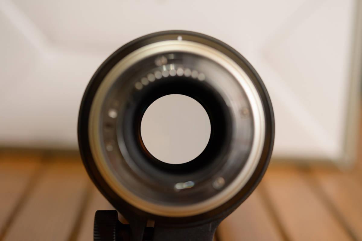 中古 SP 70-200mm F/2.8 Di VC USD G2 Model A025 & TAP-in Console Nikon ニコン 用 保証書あり_画像6