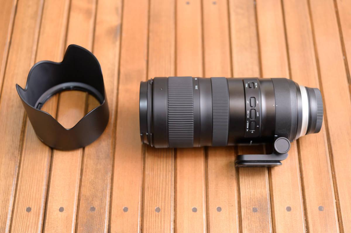 中古 SP 70-200mm F/2.8 Di VC USD G2 Model A025 & TAP-in Console Nikon ニコン 用 保証書あり