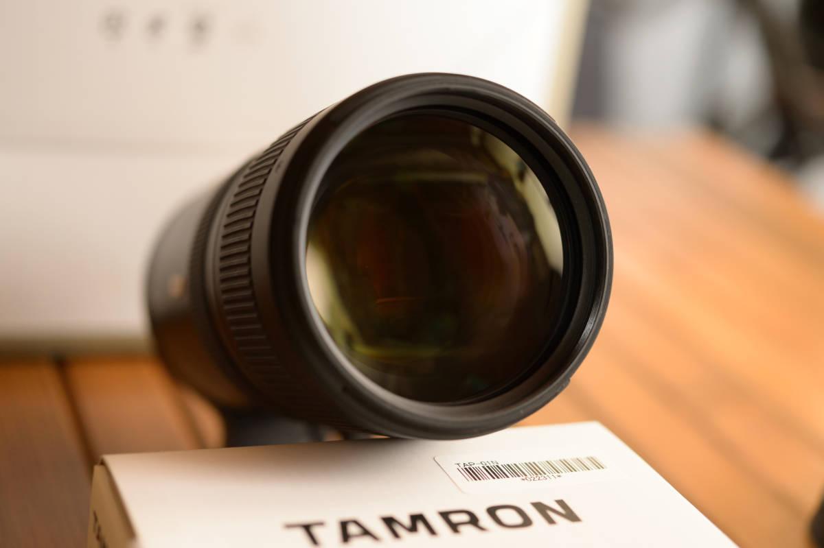 中古 SP 70-200mm F/2.8 Di VC USD G2 Model A025 & TAP-in Console Nikon ニコン 用 保証書あり_画像4