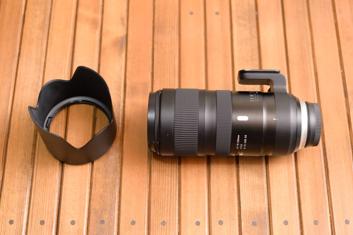 中古 SP 70-200mm F/2.8 Di VC USD G2 Model A025 & TAP-in Console Nikon ニコン 用 保証書あり_画像2