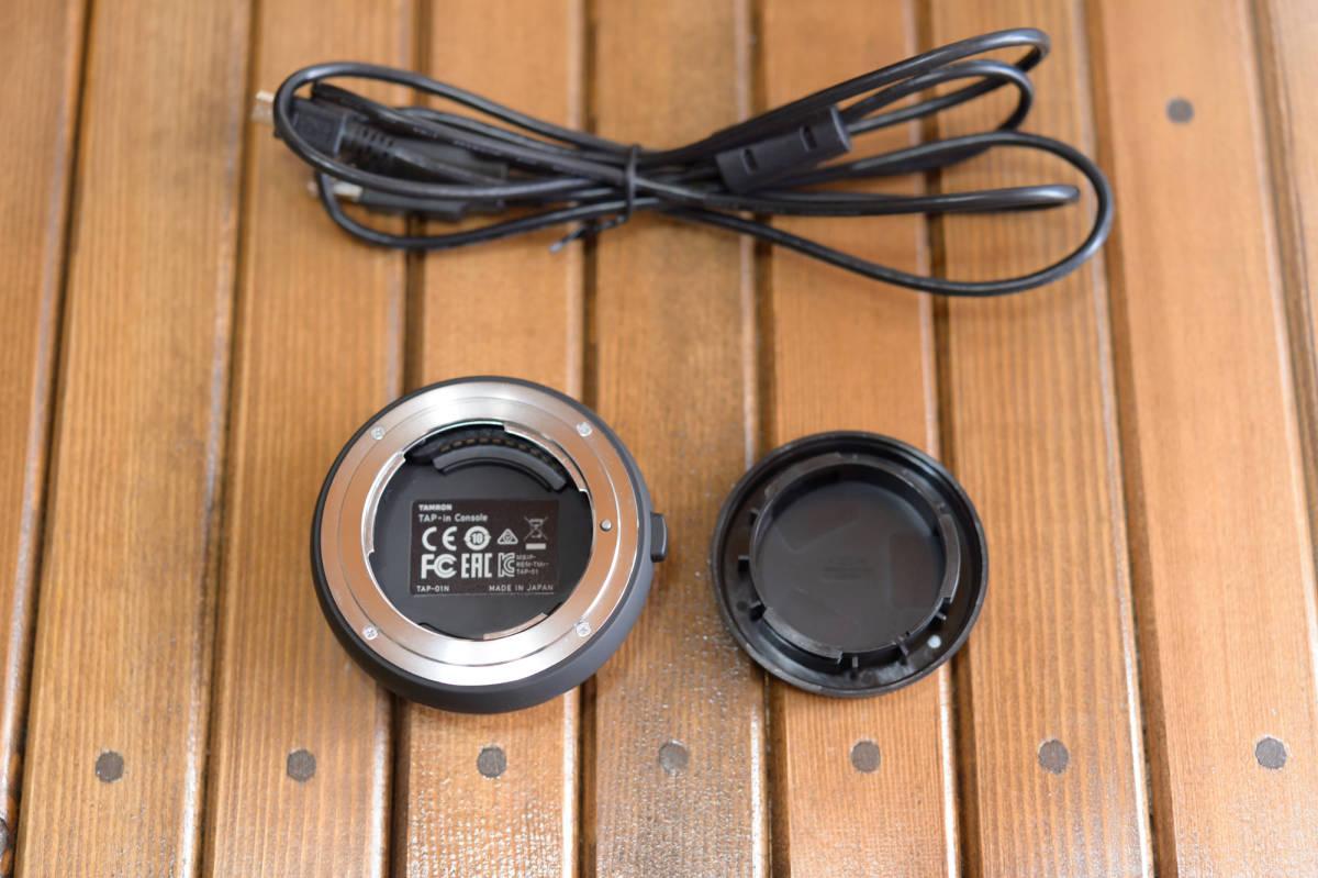 中古 SP 70-200mm F/2.8 Di VC USD G2 Model A025 & TAP-in Console Nikon ニコン 用 保証書あり_画像10