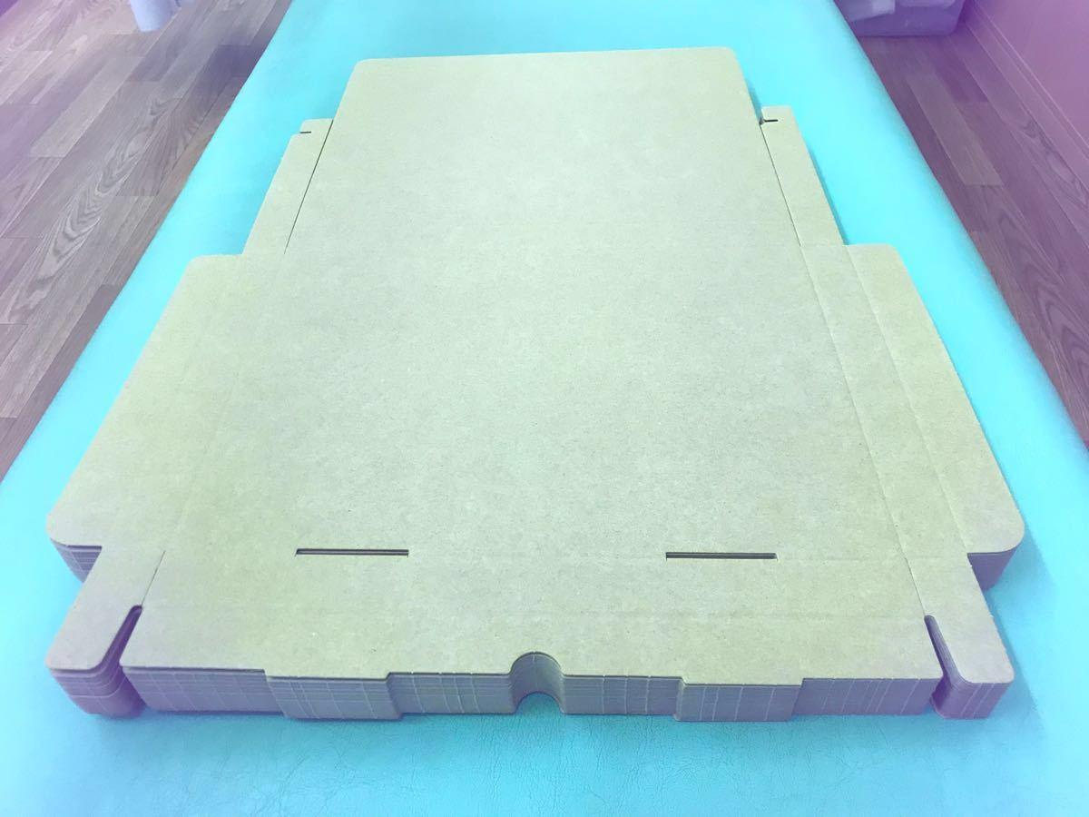 送料無料 A4 30枚 クリックポスト ゆうパケット規格ダンボール 3cm厚 綺麗な箱に入れて発送します_折らずにこのままで発送致します