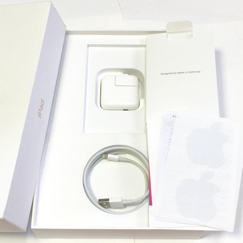 未使用新品【Apple保証90日 付属品】iPad 第6世代 2018モデル 32GB ゴールド au Wi-Fi利用限定_画像3