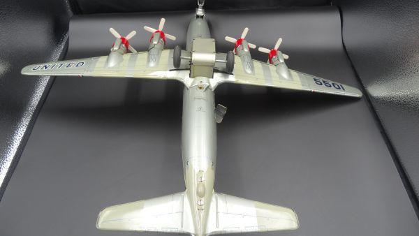 レア ヨネザワ 1950年代製 ユナイテッド エアライン DCー7C ヴィンテージ_画像10