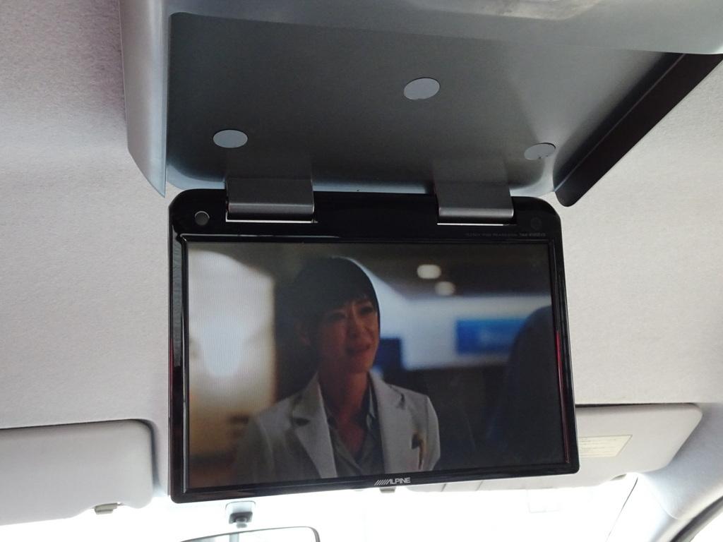 フリップダウン/TV/DVDモニター