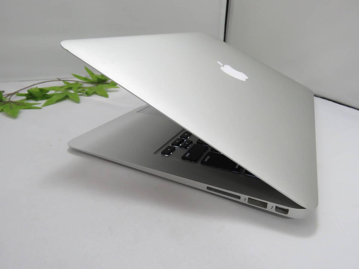 ★美品★限定1台限り MacBook Air (13-inch, 2017) MQD32J/A 高性能Core i5-1.8GHz 8GB 爆速SSD128GB 高解像度_画像5