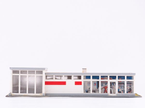 HOゲージ KIBRI ストラクチャー ガソリンスタンド 1/87サイズ【2711】_画像3