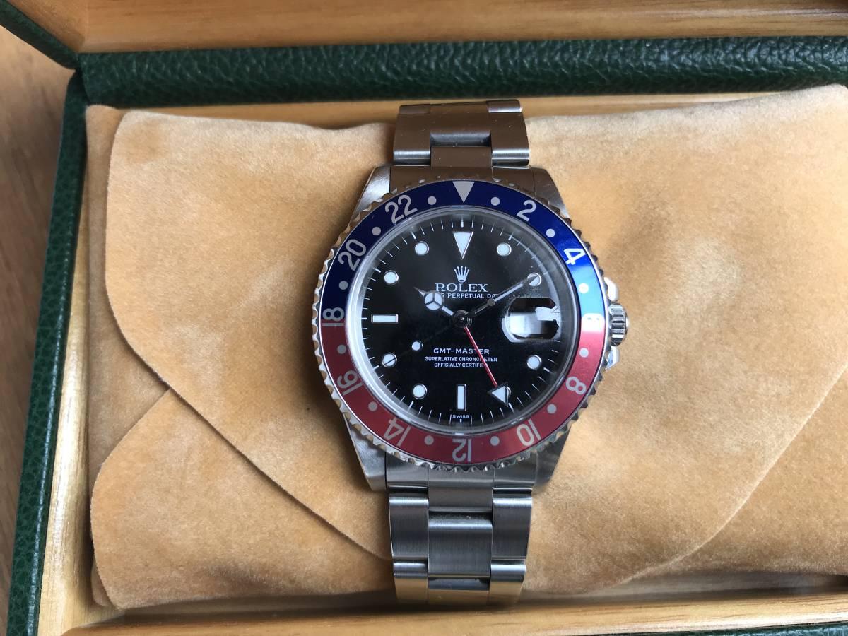 GMTマスターⅠ 赤青ベゼル 日本ロレックス正規品 16700 A品番 ☆売り切り再出品中☆