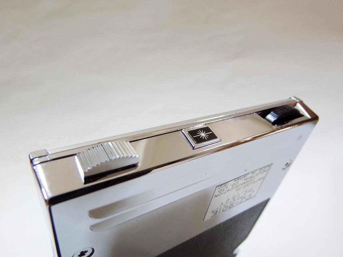 送料無料 送料出品者負担 新品未使用 デッドストック ナショナルNationalラジオパックCJ-901E 8トラック AMラジオカセット レア 廃番_画像8