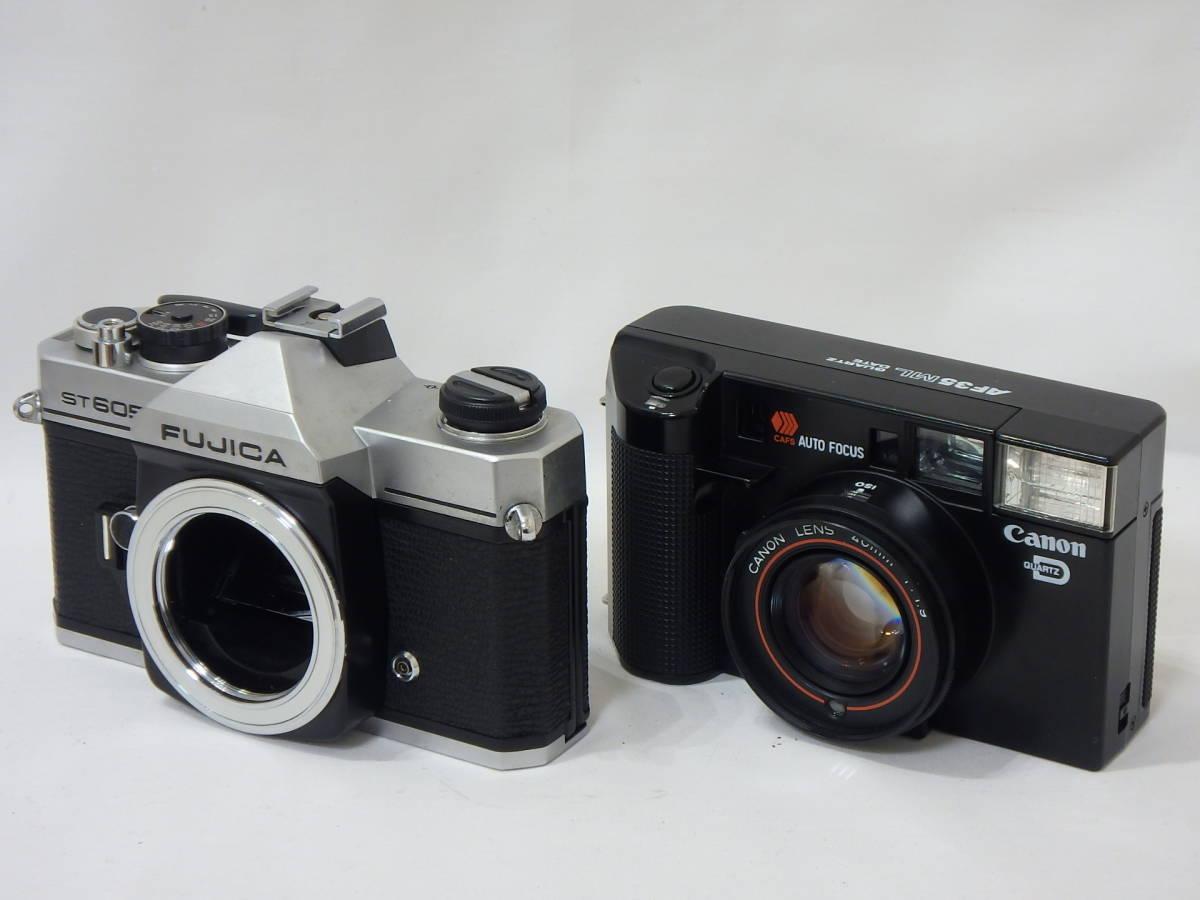 KYOCERA RICOH CHINON Canon KONICA MINOLTA FUJICA 35mm レンズシャッターその他 まとめて ジャンク品セット!AF35ML C35 AF2など _画像7