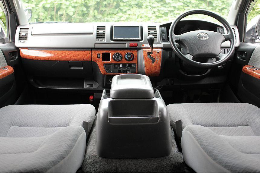 ★H21ハイエース3.0L スーパーGL ディーゼルターボ 4WD/社外HDDナビ/地デジ フルセグTV/ETC/コーナーセンサー/リアスライディングガラス /_画像7