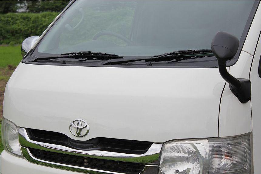 ★H21ハイエース3.0L スーパーGL ディーゼルターボ 4WD/社外HDDナビ/地デジ フルセグTV/ETC/コーナーセンサー/リアスライディングガラス /_画像2