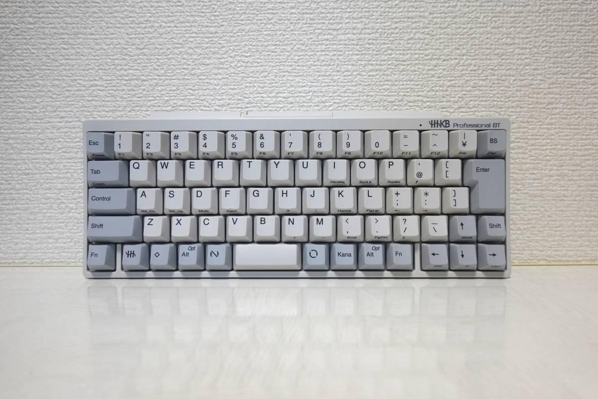 【中古美品】PFU Happy Hacking Keyboard Professional BT 日本語配列 白 PD-KB620W HHKB_画像2