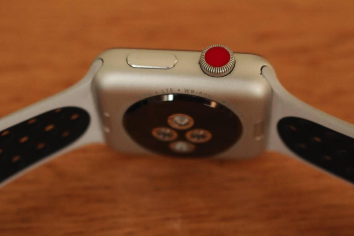 Apple Watch Series3 アップルウォッチ3 ナイキ Nike+ GPS + Cellular 42mm アップルウォッチ セルラー_画像6